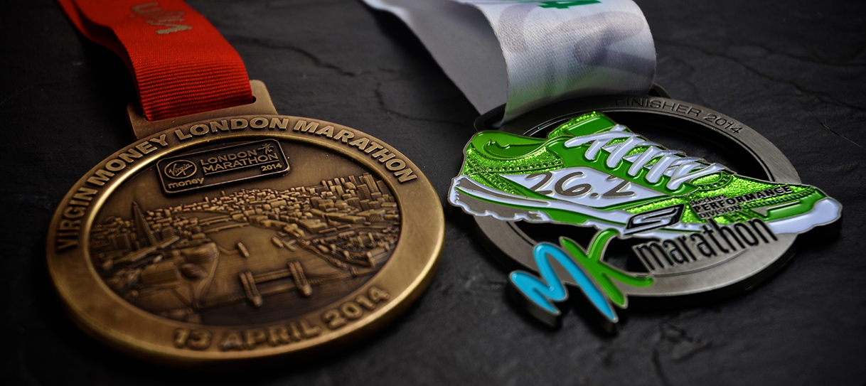 London and Milton Keynes Marathons